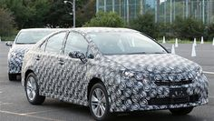 Toyota Fuel Cell Prototype Tested by The Telegraph