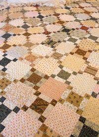 Percy Parker....a great scrap quilt idea...simpler than it looks...