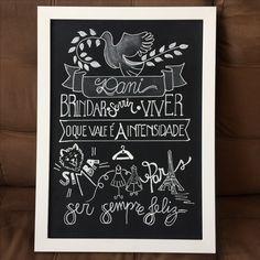 #robertabarreto #giz #posca #robertalettering #chalkwedding  #lousaniver #painelfotos #painelaniversario #photoboot #robertachalkboard #blackboard #chalkboard #arteemgiz #quadroschalk #feitopormim #calligraphy #lettering #lovetype #chalk  #lovegiz #gizmania #handlettering #tipography #handmadefont Contatos: @roberta_barreto Instagram