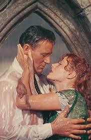 The Quiet Man - a kiss in the rain!
