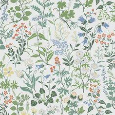 Flora by Boråstapeter - White - Wallpaper : Wallpaper Direct More Wallpaper, White Wallpaper, Peal And Stick Wallpaper, Wallpaper Panels, Wallpaper Online, Wall Wallpaper, Bleu Pastel, Vibrant Colors, Colours