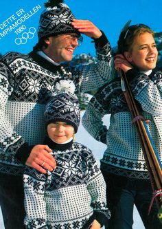 Norwegian ski team olympic sweater Lake Placid 1980 http://www.dalegarn.com/shop_pattern_detail.php?hId=1375