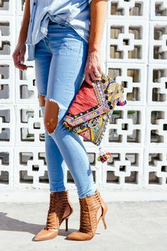VINTAGE BEADED BOHO BAG | TheyAllHateUs