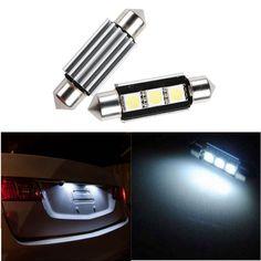 12V DC White 36mm Canbus Error Free C5W HID SMD LED Car Tail Backup Light Lamp