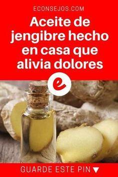 Aceite de jengibre | Aceite de jengibre hecho en casa que alivia dolores | Aprenda a preparar aceite de jengibre casero para tratar padecimientos y sobre todo dolores ? ? ?