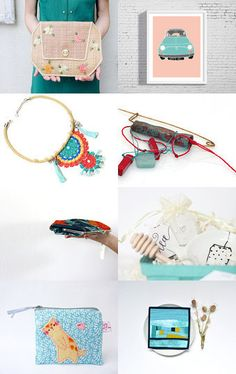 Summer breeze by Alena Bessant on Etsy--Pinned with TreasuryPin.com