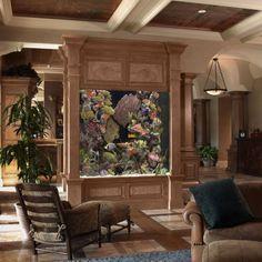 Design d'intérieur avec aquarium9