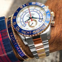 The perfect pair? Yacht-Master II $17500 Call or Email to Purchase