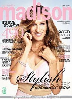 Sarah Jessica Parker for madison magazine, June 2010