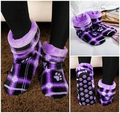 Leg Warmers, Favorite Color, Slippers, Socks, Legs, My Style, Accessories, Clothes, Purple Things
