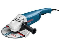 Bosch GWS22-230 Angle Grinder 110V - http://www.jewson.co.uk/tools-fixings-ironmongery/power-tools/angle-grinders/175-230mm-angle-grinders/products/TPBOS053/bosch-gws22-230-angle-grinder-110v/