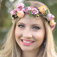 acessório, casamento, flower crown, coroa de flores, tiara de flores, coroa de flores comprar, g.offer, tiara de flores comprar, tiara de flores pequenas, tiara de flores casamento, acessórios para cabelo, coroinha de flores, headband, presilha, grampo - G.Offer