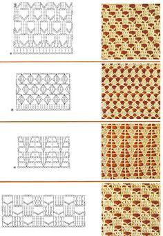 lace crochet stitch pattern
