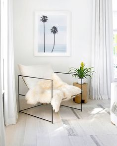 Bright white Ripple Fold Drapery gives the best of both worlds. Get the look at theshadestore.com // Design by RoomSecret // Photo by Troy Campbell Bedroom Windows, Beautiful Bedrooms, Drapery, Cozy, Design, Style, Swag, Pretty Bedroom