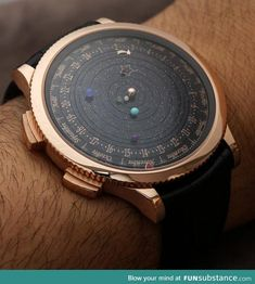 The solar system watch. All this needs is a TARDIS!