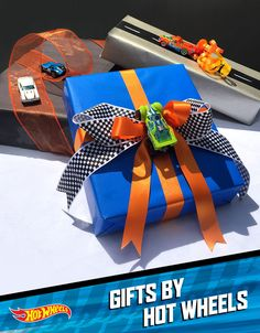 Get Hot Wheels wrapping ideas that make any holiday, birthday or special gift instantly epic. Learn how h Get Hot Wheels wrapping ideas that make any holiday, birthday or special gift instantly epic. Hot Wheels Party, Festa Hot Wheels, Hot Wheels Birthday, Race Car Birthday, Cars Birthday Parties, Boy Birthday, Birthday Gifts, 5th Birthday Ideas For Boys, Happy Birthday