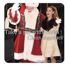 This is one thing i have never been able to do, but before i die i will get one pic with Santa!!!!!!
