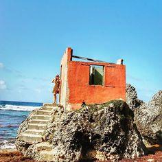 🎶Era uma casa muito engraçada, não tinha teto, não tinha nada... 🎶 . . 🚩Bathsheba Beach, Barbados, Caribbean . . .