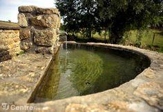 Le lavoir de la fontaine à Margot - Teigny, Nièvre.