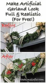 The Kim Six Fix: How to Make Fake Garlands Look Fuller and More Realistic (For Free!)