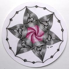 BineTangle: Muster Mixer #18 - Auraknot und Paradox