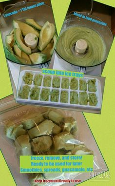 Love placing 1 to 2 avocado cubes in my smoothies! Smoothies, Love, Cubes, Thats Not My, Avocado, Healthy, Ideas, Smoothie, Amor
