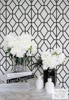 black and white geometric wallpaper - Google Search