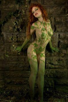 Justine Joli as Poison Ivy.