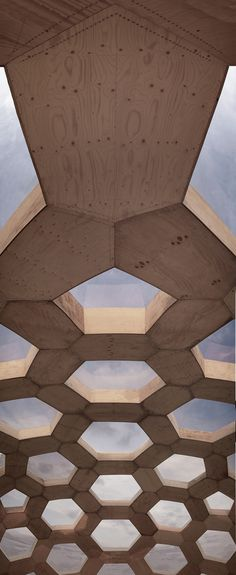 Plywood Dome v.2 a geodesic dome at Roskilde Festival 2012