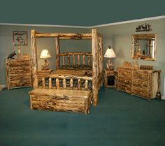 Rustic Bedroom Furniture | ... Furniture: Country, Simple, and Homely Style: Rustic Furniture Bedroom