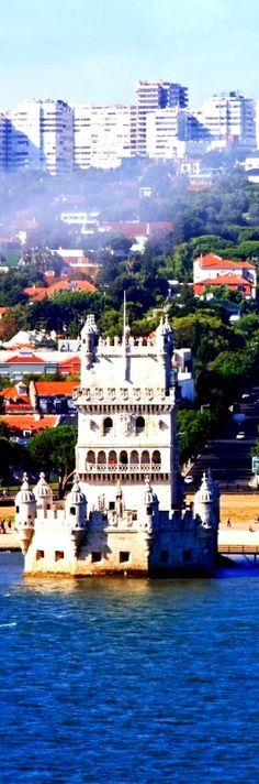 Tower of Belem Lisbon, Portugal   Amazing Photography Of Cities and Famous Landmarks From Around The Worl