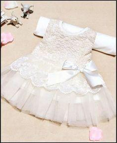 vestido de bebes- batizado festa de renda e tule  importados