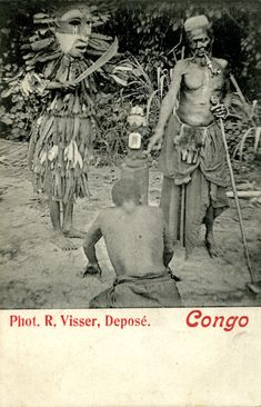 Field-photo of the day: behind the scenes at the Berlin Ethnologisches Museum Africa Tribes, Photo Postcards, Tribal Art, Priest, African Art, Traditional Outfits, Behind The Scenes, Berlin, Archive