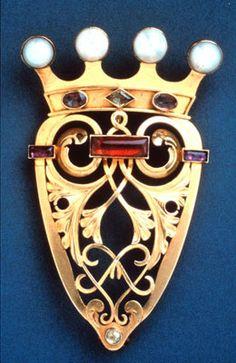 Broche de sa Majesté la Reine Victoria 1843
