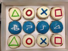 Playstation Cupcakes