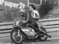 Bo Granath & Barry Sheene, Spa.