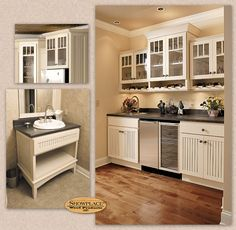 find this pin and more on inspired by nantucket showplace cabinets - Dining Room Wall Cabinets