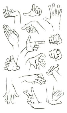 another hand reference how to sheet finger gun flick flicking grabbing hands drawingPractices to draw hands, Made back in summer. In my opinion drawing hands is one of the most important things to grasp when designing characters and jus. Body Drawing, Anatomy Drawing, Manga Drawing, Drawing Hands, Drawing Art, Manga Art, Gesture Drawing Poses, Figure Drawing, Manga Anime
