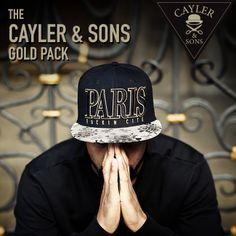"""Das neue Cayler & Sons """"Gold Pack"""" vereint stylische Prints mit edler Optik in schwarz und gold. Das bekannte Motiv """"Paris"""" gibt es im Gold-Look jetzt in ausgewählten SNIPES Stores sowie auf www.snipes.com/caylerandsons. P.S.: Die Snapback """"Problems"""" findet ihr ausschließlich online, ebenfalls auf www.snipes.com/caylerandsons. #caylerandsons #goldpack #snipes #snipescom #headwear #capaddict #streetwear #paris #pray #fuckinproblems #worstbehavior"""
