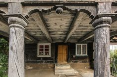 Poland, arcaded houses / Domy podcieniowe | Flickr - Photo Sharing!
