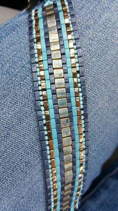 Check out this item in my Etsy shop https://www.etsy.com/listing/270676224/miyuki-tila-bracelet-tila-and-half-tila