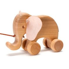 Wooden Elephant Pull Toy In Toddler Toys – Nova Natural Toys & Crafts