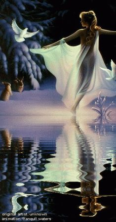 Water Animations - Oceans to Angels - Image 6 - Tranquil Waters - Fantasy Art