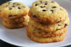 Low-Fructose & Gluten-Free Chocolate Chip Cookies (White Rice Flour)