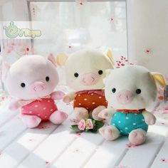 Cute Soft Stuffed Animal Plush Strawberry Pig Dolls for Children on EVtoys.com, only price: $6.89