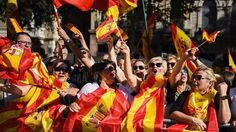 Catalonia independence: At least 300,000 attend Barcelona pro-Spain rally.