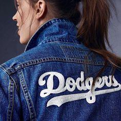 THINK BLUE: Levi's baseball collection #levis #dodgers by dodgersgram