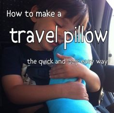 tutorial kid sized travel neck pillow super easy pillows and tutorials