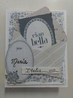 Mini Scrapbook, Ciao Bella. Mini Albums, Scrapbook, Ideas, Decor, Projects, Decoration, Decorating, Scrapbooks, Dekorasyon