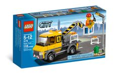 LEGO City 3179 Repair Truck * You can get additional details at the image link. Lego Truck, Lego City Sets, Lego Boards, Lego City Police, Lego Construction, Lego Toys, Buy Lego, Lego Building, Lego Star Wars